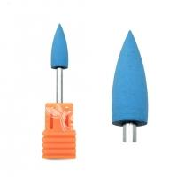 Полир силиконовый конус синий (Ø 6 мм) (800 грит)