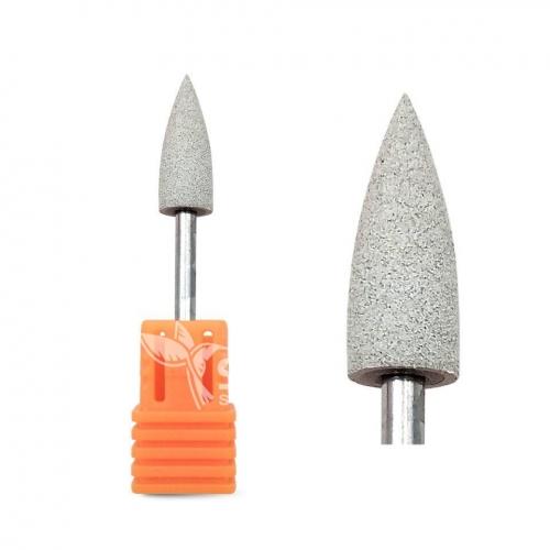 Полир силиконовый конус серый (Ø 6 мм) (120 Грит)