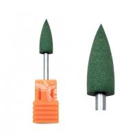 Полир силиконовый конус зеленый (Ø 6 мм) (240 грит)