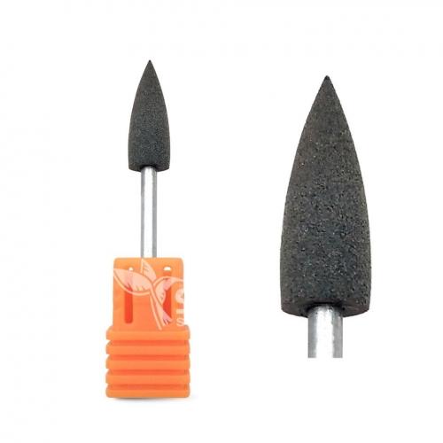 Полир силиконовый конус черный (Ø 6 мм) (180 грит)