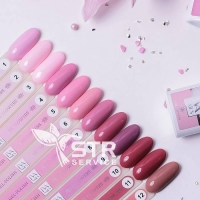 Гель-лак IVA Nails Pink Flowers 11_2
