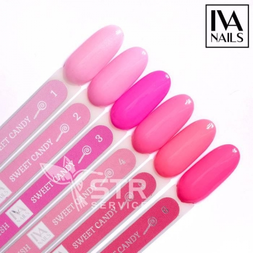 Гель-лак IVA Nails Sweet Candy 4