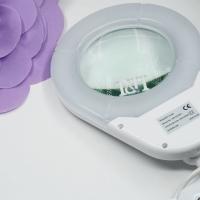 Лампа-лупа LED настольная овал_1
