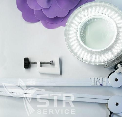 Лампа-лупа LED настольная