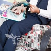 Детское парикмахерское сиденье Bambini City_5