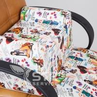 Детское парикмахерское сиденье Bambini Fashion_3
