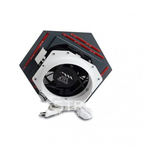 Max Ultimate 3 Супермощный встраиваемый пылесос (серый)