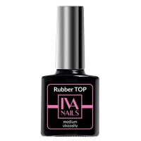 Топ IVA Nails Top Rubber Medium Viscosity (8 ml)