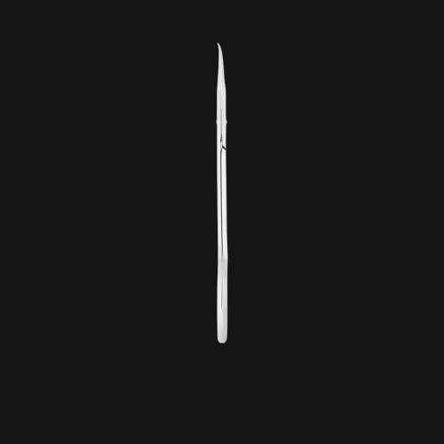 Маникюрные ножницы для кутикулы STALEKS EXCLUSIVE SX-11/2 (Zebra)