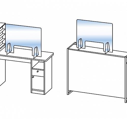 Защитный экран для маникюра ЭКОНОМ