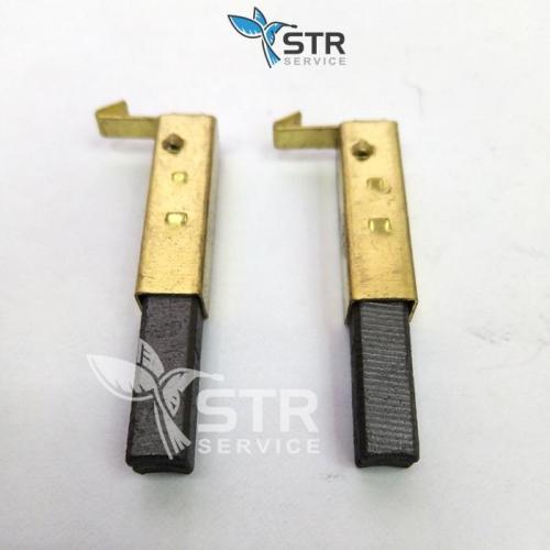 Коллекторные щетки для моторов пылесосов педикюрных аппаратов.