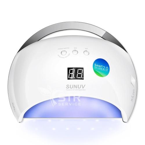 Ультрафиолетовая лампа LED-UV SUNUV 6, 48 Вт для маникюра