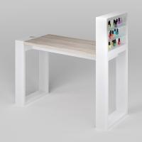 Маникюрный стол Matrix с подставкой для лаков_1