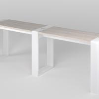 Маникюрный стол Matrix двухместный_1