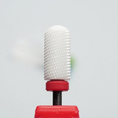 Фреза керамическая (цилиндр с полусферой) красная