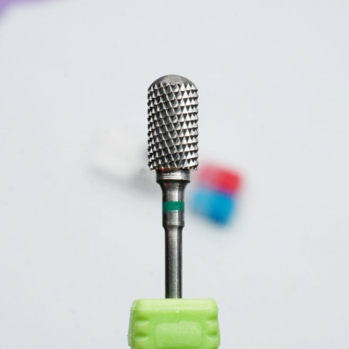Фреза твердосплавная (зеленый) FZ-TVD-C1-Z цилиндр закругленный