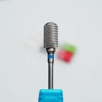 Фреза твердосплавная (синий) FZ-TVD-C1-S цилиндр закругленный