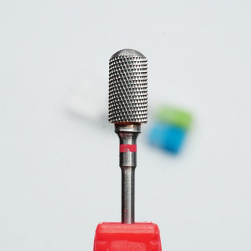 Фреза твердосплавная (красный) FZ-TVD-C1-K цилиндр закругленный