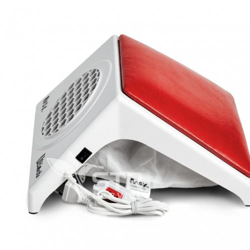 Max Ultimate, настольный пылесос для маникюра с красной подушкой
